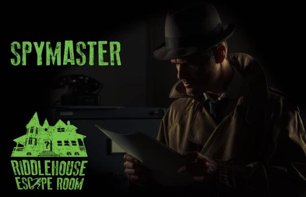 Riddlehouse Escape Room Spymaster
